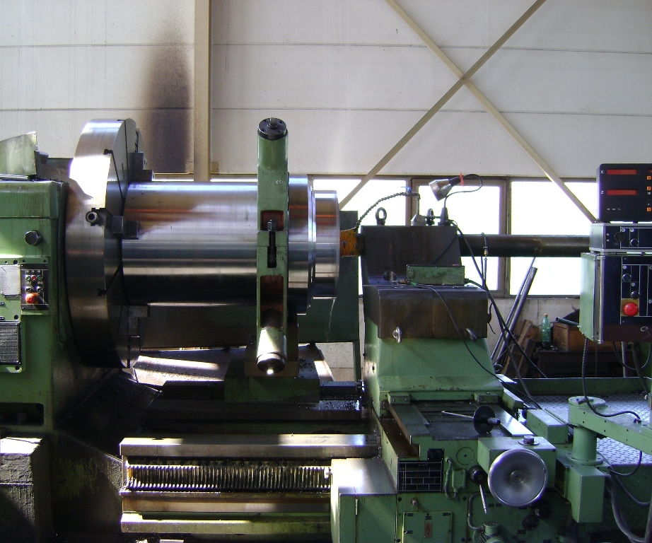 Große Drehmaschine1